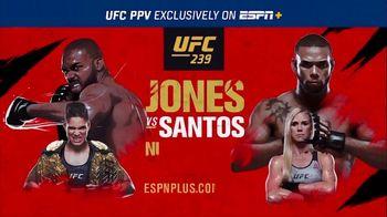 ESPN+ TV Spot, 'UFC 239: Jones vs. Santos'