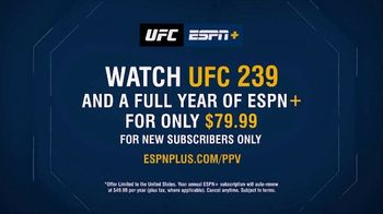 ESPN+ TV Spot, 'UFC 239: Jones vs. Santos' - Thumbnail 6