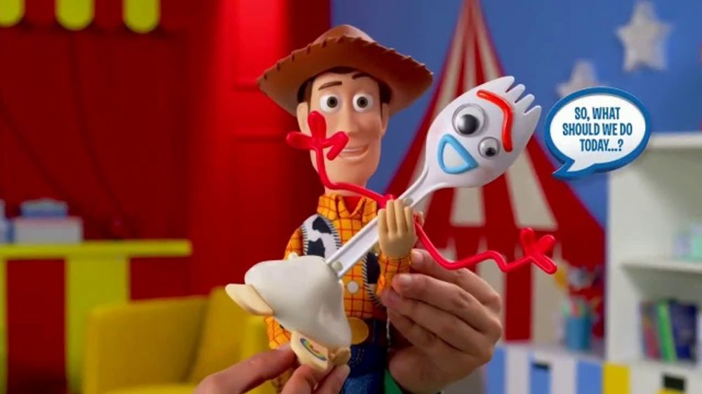 Toy Story 4 Talking Action Figures TV Commercial, 'Ready for Adventure'