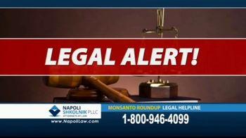 Napoli Shkolnik PLLC TV Spot, 'Monsanto Roundup Legal Helpline' - Thumbnail 2