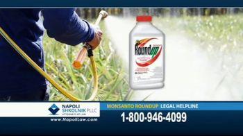 Napoli Shkolnik PLLC TV Spot, 'Monsanto Roundup Legal Helpline' - Thumbnail 6