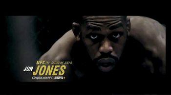 ESPN+ TV Spot, 'UFC 239: Jones vs. Santos: Unstoppable Force' - 161 commercial airings