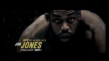 ESPN+ TV Spot, 'UFC 239: Jones vs. Santos: Unstoppable Force' - Thumbnail 1