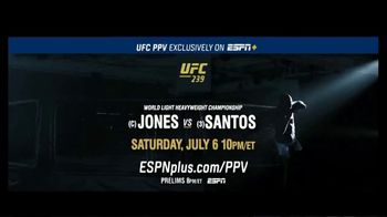 ESPN+ TV Spot, 'UFC 239: Jones vs. Santos: Unstoppable Force' - Thumbnail 10