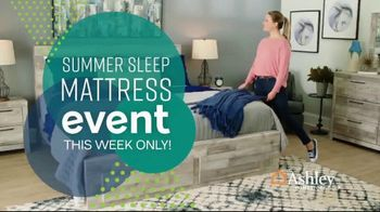 Ashley HomeStore Summer Sleep Mattress Event TV Spot, 'Save Up to $1,000' Song by Midnight Riot - Thumbnail 2