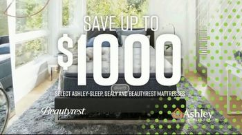 Ashley HomeStore Summer Sleep Mattress Event TV Spot, 'Save Up to $1,000' Song by Midnight Riot - Thumbnail 4