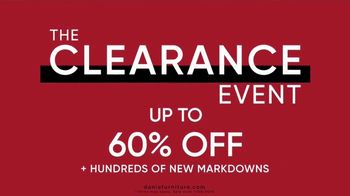 Dania Furniture Clearance Event TV Spot, 'Modern and Contemporary: 60 Percent' - Thumbnail 3
