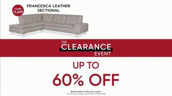 Dania Furniture Clearance Event TV Spot, 'Modern and Contemporary: 60 Percent' - Thumbnail 4