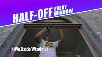 Wallside Windows 75th Anniversary TV Spot, 'Half-Off Every Window'