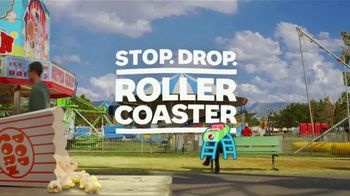 Pepsi TV Spot, \'Summergram: Stop. Drop. Roller Coaster\'
