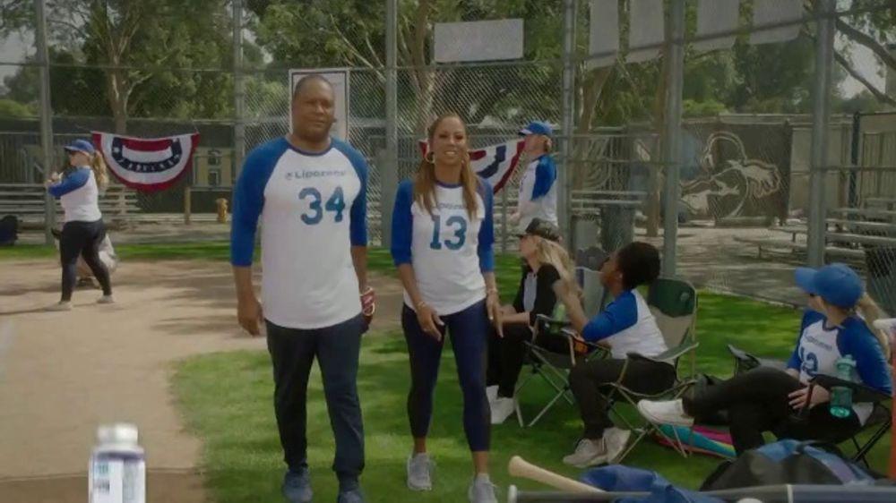 Lipozene TV Commercial, 'Baseball' Featuring Holly Robinson Peete and Rodney Peete