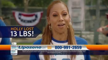 Lipozene TV Spot, 'Baseball' Featuring Holly Robinson Peete and Rodney Peete - Thumbnail 2
