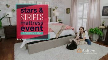 Ashley HomeStore Stars & Stripes Mattress Event TV Spot, 'Extended: Sealy Adjustable Sets' - Thumbnail 2