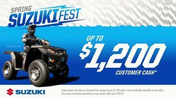 Suzuki Spring SuzukiFest TV Spot, '2019 KingQuad' - Thumbnail 9