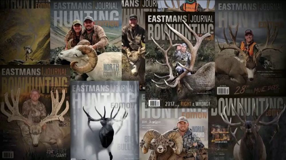 Eastmans' Hunting and Bowhunting Journals TV Commercial, 'Six Big Issues for $24.99'