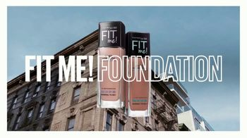 Maybelline New York Fit Me! Foundation TV Spot, '64 Fits' - Thumbnail 1