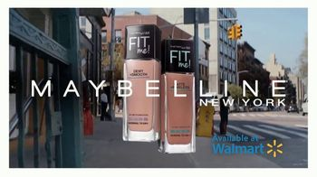 Maybelline New York Fit Me! Foundation TV Spot, '64 Fits' - Thumbnail 9