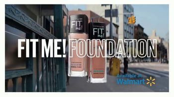 Maybelline New York Fit Me! Foundation TV Spot, '64 Fits' - Thumbnail 8