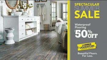 Lumber Liquidators Spectacular Summer Sale TV Spot, 'Waterproof & Bellawood Hardwood Flooring' - Thumbnail 4