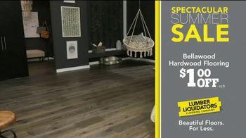Lumber Liquidators Spectacular Summer Sale TV Spot, 'Waterproof & Bellawood Hardwood Flooring' - Thumbnail 5