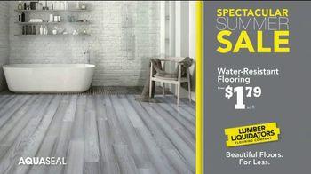 Lumber Liquidators Spectacular Summer Sale TV Spot, 'Waterproof & Bellawood Hardwood Flooring' - Thumbnail 6
