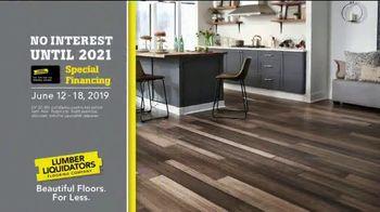 Lumber Liquidators Spectacular Summer Sale TV Spot, 'Waterproof & Bellawood Hardwood Flooring' - Thumbnail 7