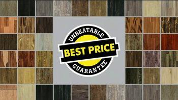 Lumber Liquidators Spectacular Summer Sale TV Spot, 'Waterproof & Bellawood Hardwood Flooring' - Thumbnail 8