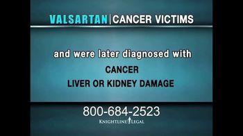 Knightline Legal TV Spot, 'Valsartan: Cancer Victims' - Thumbnail 4