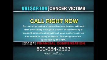 Knightline Legal TV Spot, 'Valsartan: Cancer Victims' - Thumbnail 7
