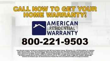 American Residential Warranty TV Spot, 'Home Security System' - Thumbnail 9