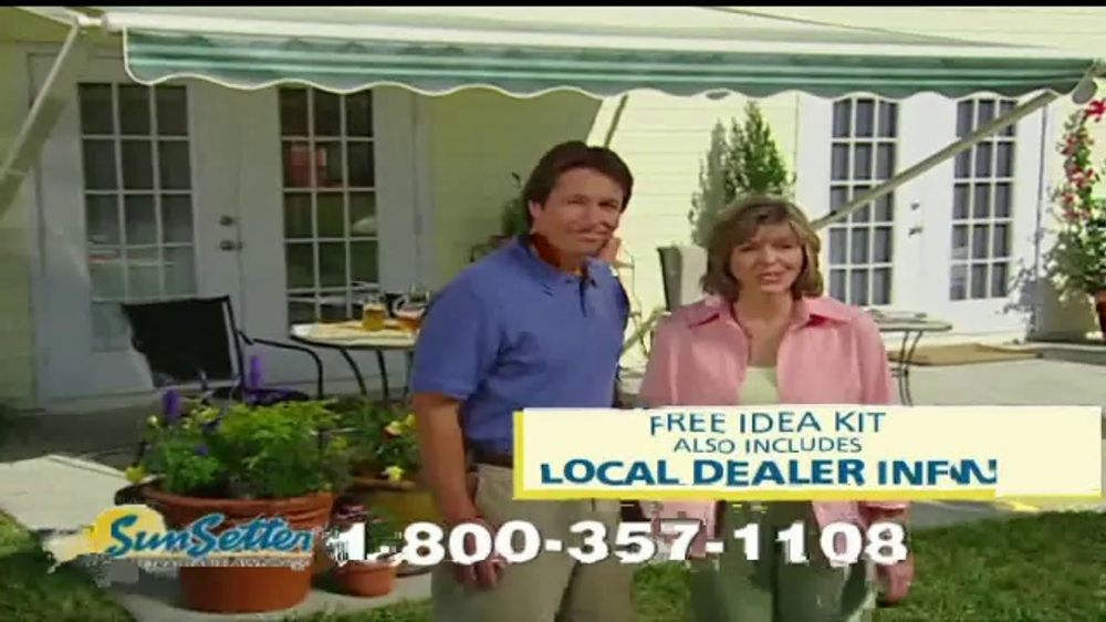 SunSetter TV Commercial, 'Instant Shade and Protection ...