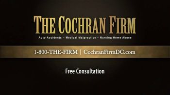 The Cochran Law Firm TV Spot, 'Testimonials' - Thumbnail 9