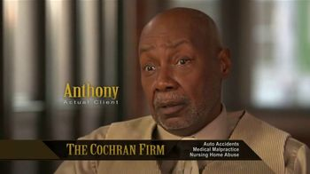 The Cochran Law Firm TV Spot, 'Testimonials' - Thumbnail 4
