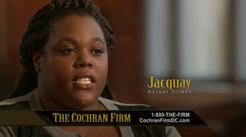 The Cochran Law Firm TV Spot, 'Testimonials' - Thumbnail 8