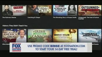 FOX Nation TV Spot, 'To-Do List: Five Shows'