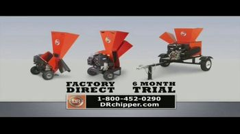 DR Power Equipment Super Sale! TV Spot, 'DR Chipper Shredder' - Thumbnail 6