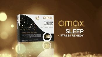 Omax Health Sleep & Stress Remedy With CBD TV Spot, 'Sleep Better' Featuring Jessica Sutta