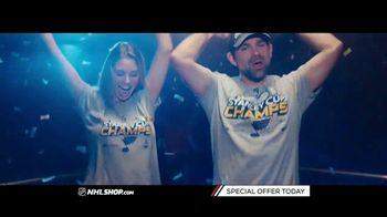 NHL Shop TV Spot, '2019 Stanley Cup Champions: St. Louis Blues' - Thumbnail 5