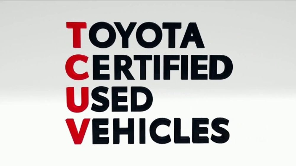 Certified Used Toyota >> Toyota Certified Used Vehicles Tv Commercial Rav4 Corolla Or
