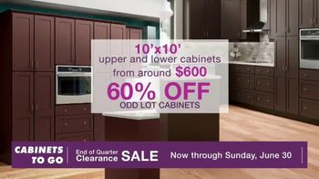 Cabinets To Go End of Quarter Clearance Sale TV Spot, 'Your Dream Kitchen is on Sale' - Thumbnail 5