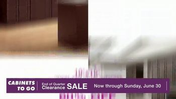 Cabinets To Go End of Quarter Clearance Sale TV Spot, 'Your Dream Kitchen is on Sale' - Thumbnail 6