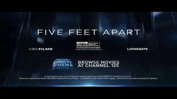 DIRECTV Cinema TV Spot, 'Five Feet Apart' - Thumbnail 8