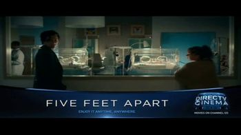 DIRECTV Cinema TV Spot, 'Five Feet Apart' - Thumbnail 1