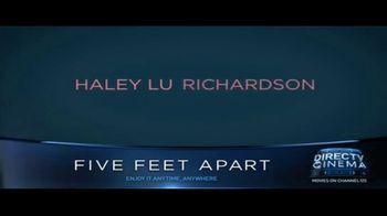 DIRECTV Cinema TV Spot, 'Five Feet Apart' - Thumbnail 3
