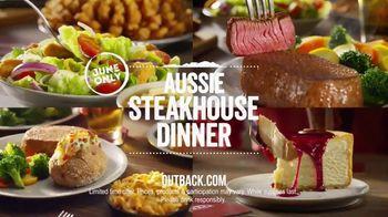 Outback Steakhouse Aussie Steakhouse Dinner TV Spot, 'How to Enjoy Dinner' - Thumbnail 9