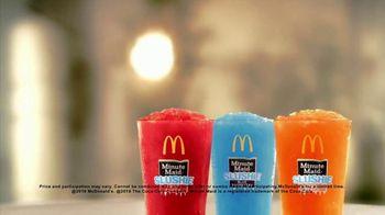 McDonald's Minute Maid Slushies TV Spot, 'Any Size Soft Drink' - Thumbnail 8