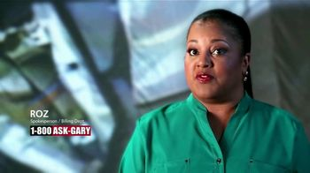 1-800-ASK-GARY TV Spot, 'Roz's Story' - Thumbnail 2