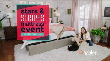 Ashley HomeStore Stars & Stripes Mattress Event TV Spot, 'Sealy & Beautyrest Adjustable Sets' Song by Midnight Riot - Thumbnail 2