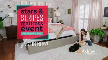 Ashley HomeStore Stars & Stripes Mattress Event TV Spot, 'Sealy & Beautyrest Adjustable Sets' Song by Midnight Riot - Thumbnail 3