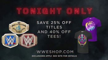 WWE Shop TV Spot, 'Inspired by Millions: Titles and Tees' - Thumbnail 8